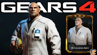 "Gears of War 4 - ""DB Industries Baird"" Character Multiplayer Gameplay! (Gears 4 DB Industries Baird)"