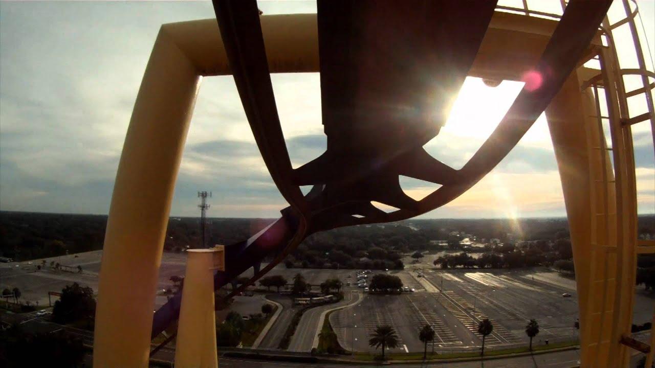 Montu Roller Coaster Front Seat Pov Busch Gardens Tampa