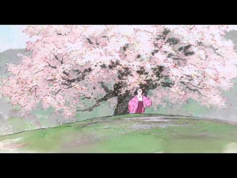 Stunning clip from The Tale of The Princess Kaguya: Blossoms 1080p