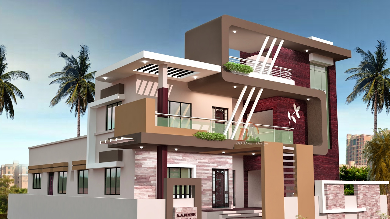D K 3D HOME DESIGN - YouTube