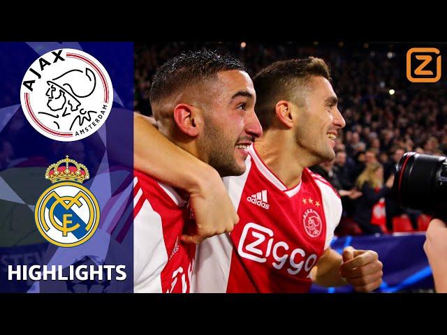 SPEKTAKELSTUK door DAPPER Ajax 💪🏼   Ajax vs Real Madrid   Champions League 2018/19   Samenvatting
