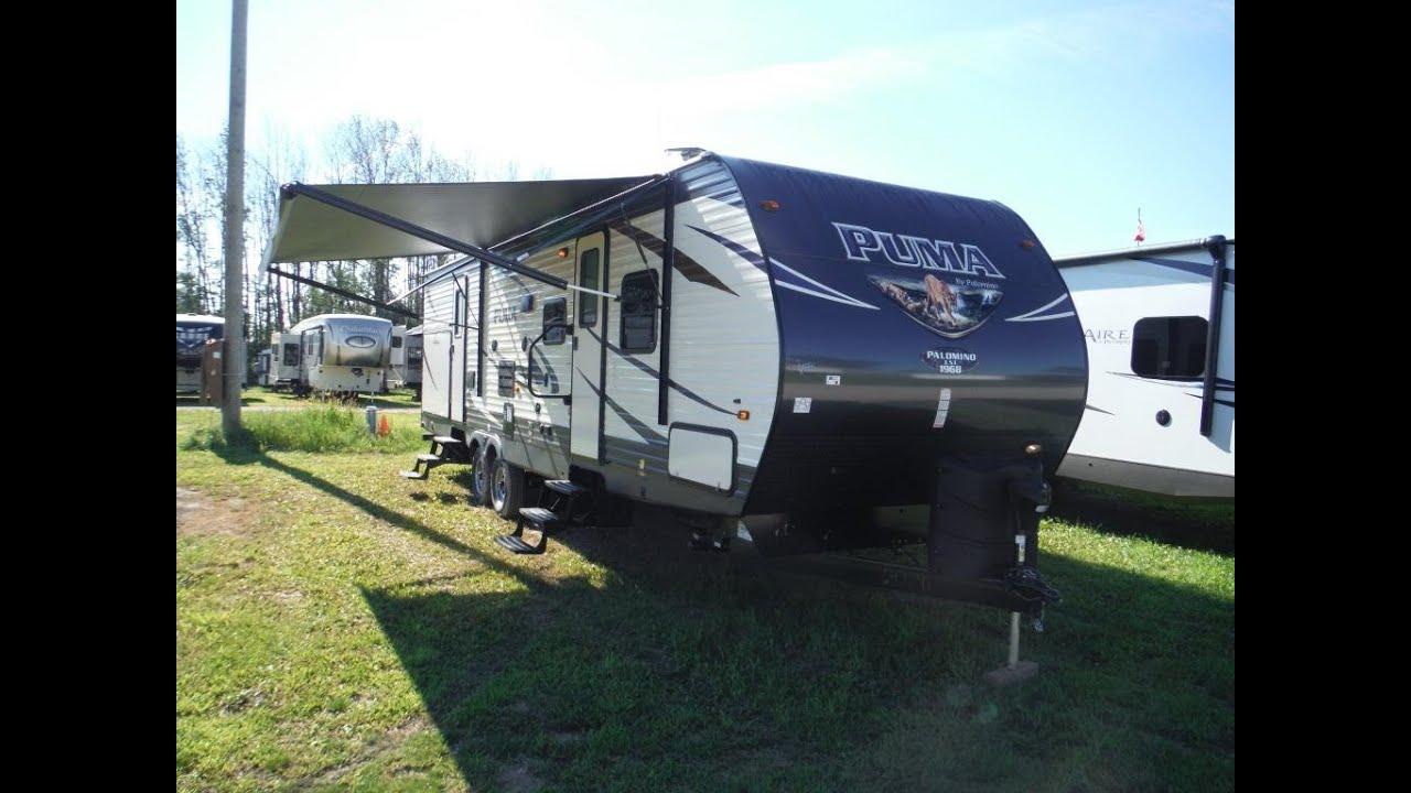 puma 2 bedroom trailer