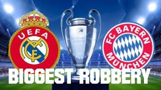 Real Madrid - Bayern München (Agg 6:3) | The Biggest Robbery in the history of Football?