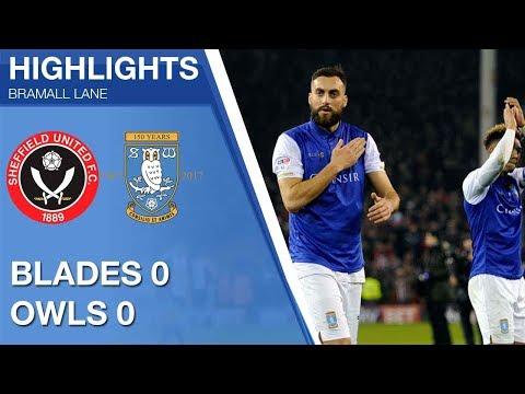 Sheffield United 0 Sheffield Wednesday 0 | Extended highlights | 2017/18