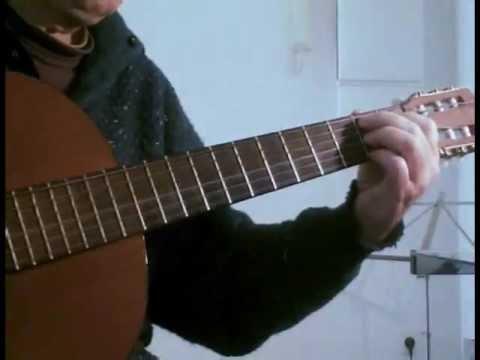 Beyond The Sea - La Mer - for solo acoustic guitar
