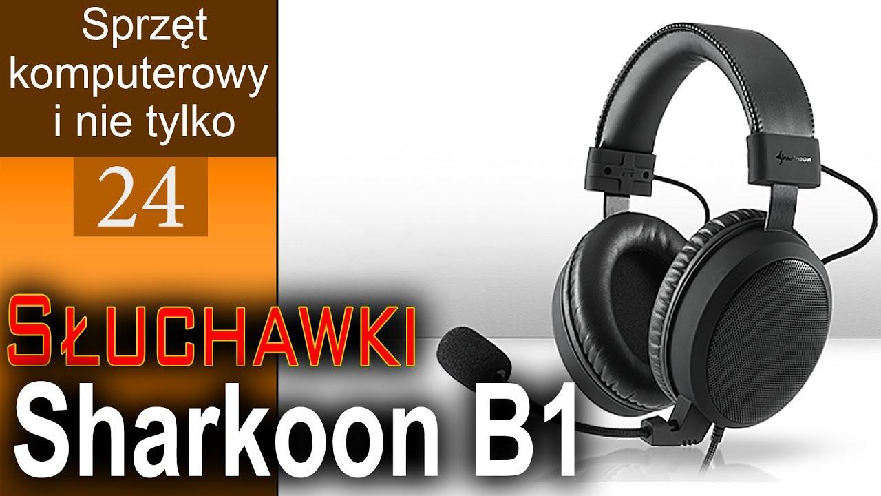 Słuchawki Sharkoon B1 – rewelacyjny mikrofon