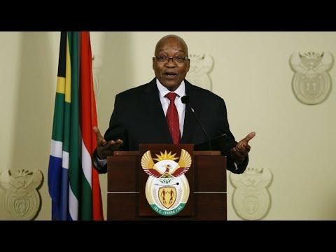 South Africa: President Jacob Zuma resigns