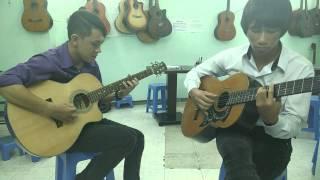 """""""Chuyện Tình Yêu"""" Cover guitar Rhumba,Flamenco"""