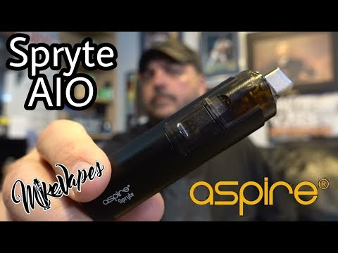 Aspire Spryte AIO Pod Style System - Mike Vapes