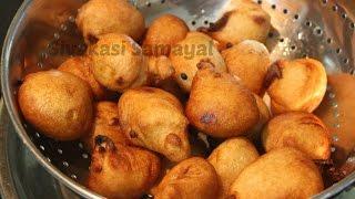 Ravai paniyaaram(ரவை பணியாரம்)Sivakasi Samayal/ Recipe - 25
