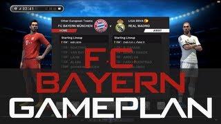 Pes2013 - Best (Bayern Munchen) Gameplan / Formation !!! (HD) Ranking Match