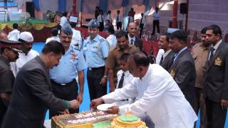 Sainik School Bijapur, Anniversary, Cake Cutting, 16 Sept 2014