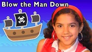 pirate adventure song   blow the man down and more   baby songs from mother goose club
