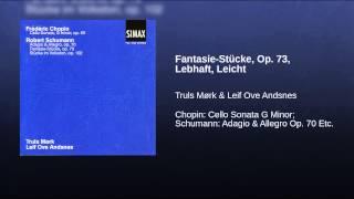 Fantasie-Stücke, Op. 73, Lebhaft, Leicht