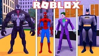 Roblox → REALISTIC SUPER HEROES FACTORY!! -Superhero Tycoon 2 🎮