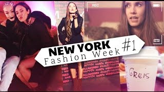 VLOG | NEW YORK Fashion Week #1 | He conocido a Gigi Hadid!!!
