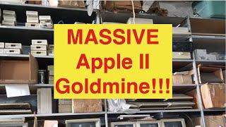 MASSIVE Vintage Retro Apple II Collection Pickup!!!