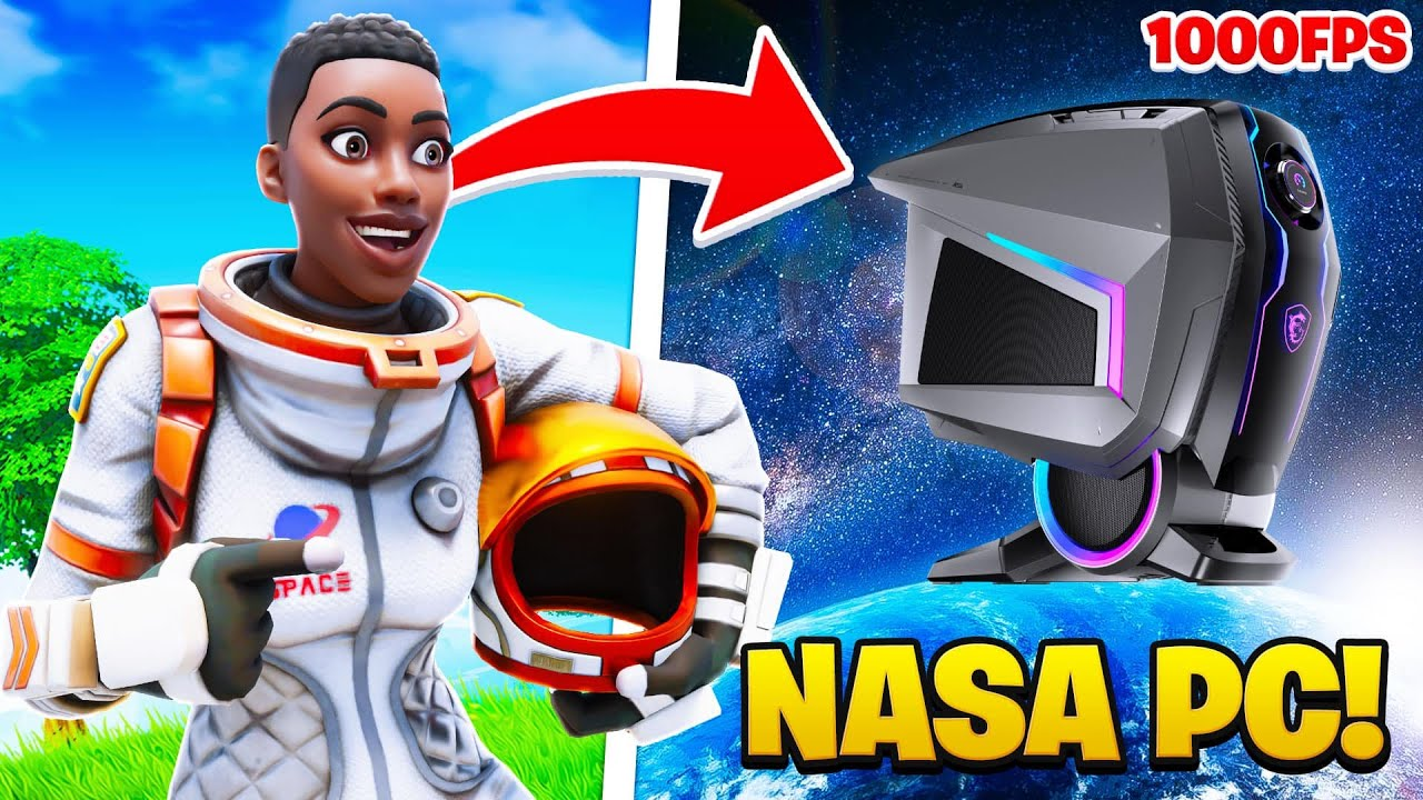 Download I Played Arena With My New NASA PC (1000 FPS)