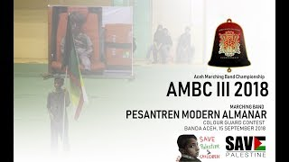 AMBC III |  MB. AL-MANAR COLOUR GUARD CONTEST - Original Version