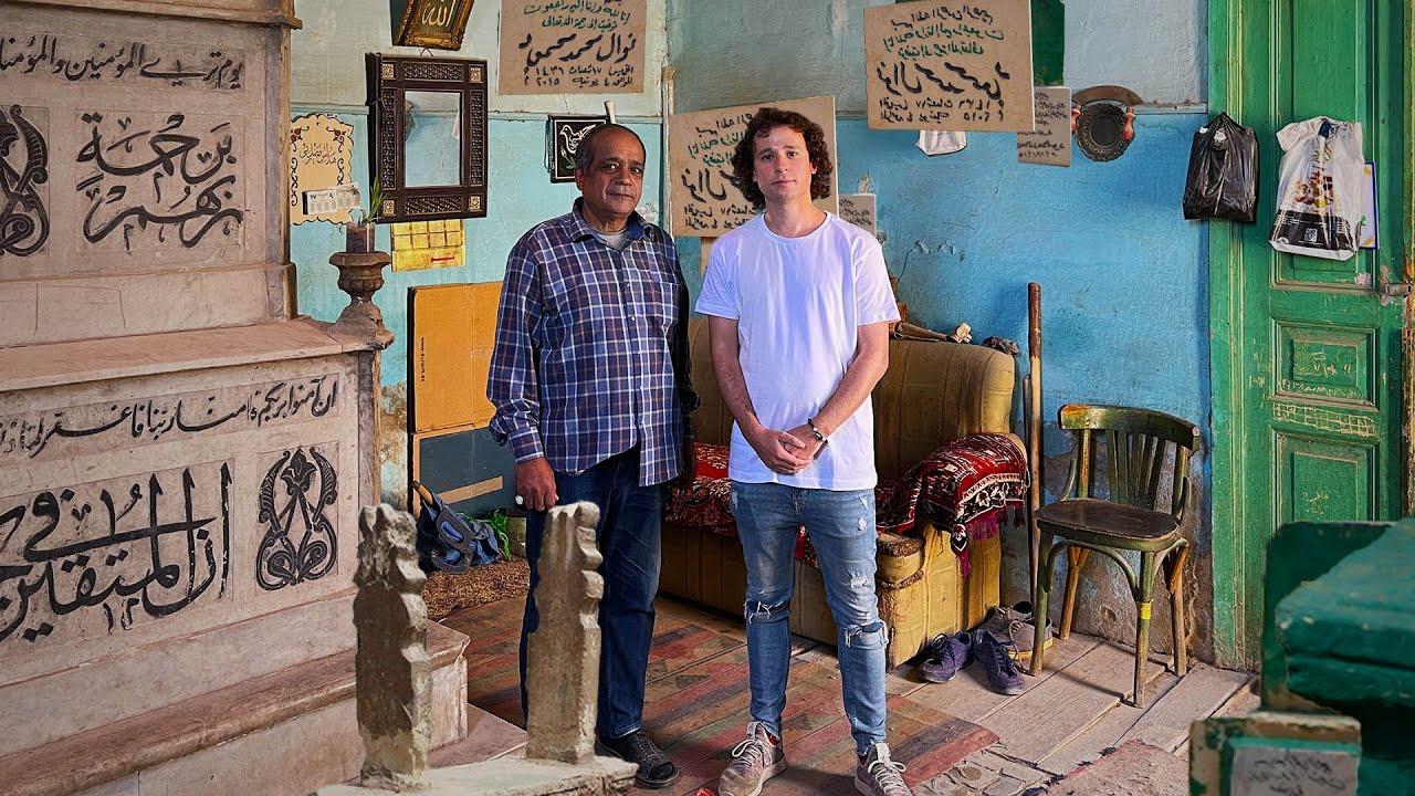 LA CIUDAD DE LOS MUERTOS: Vidas adentro de tumbas | Cairo 🇪🇬