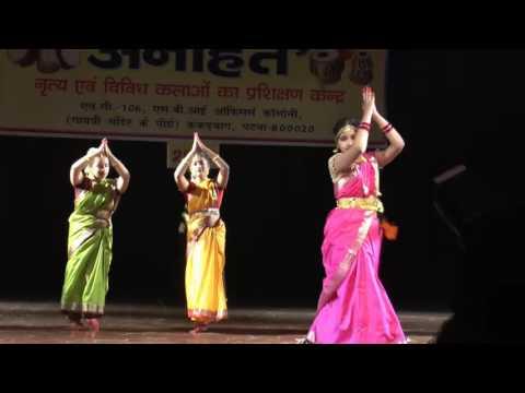 jai jai bhairavi  choreography by Dr.Pooja Varma, Anahat 2015,patna