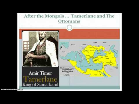 Tamerlane and the Ottomans