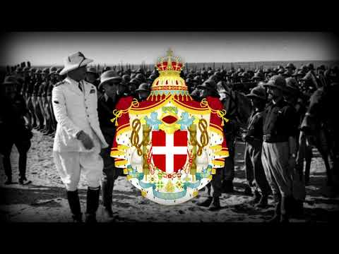 "National Anthem of Italian Imperial (1936-1946): ""Inno Imperiale Italiano"""