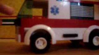 Lego city Ambulace truck review 7890