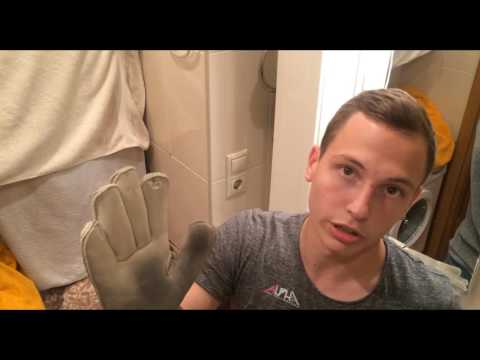 Как ухаживать за вратарскими перчатками || Шампунь Dirt Off от Alpha Keepers || Gloves N' Kit
