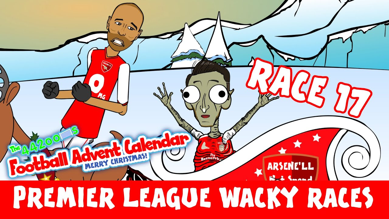 Premier League Wacky Races Stage 17 Arsenal 2 1 Man