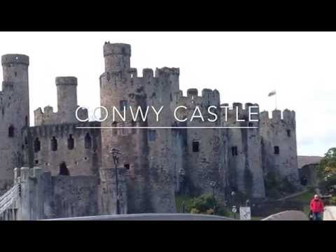 Conwy Castle Video Tour.