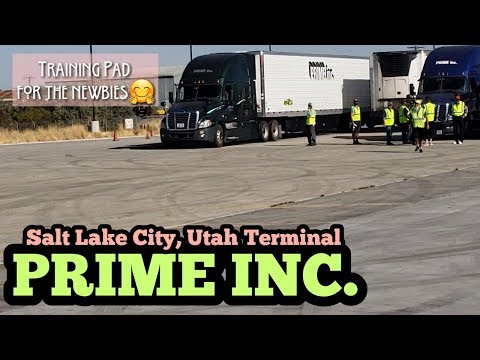 PRIME INC. SALT LAKE CITY, UTAH TERMINAL TOUR