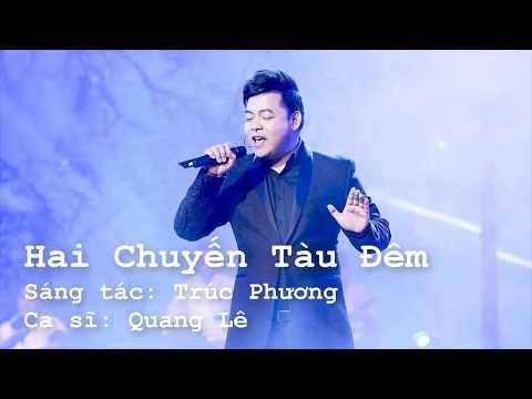 Hai Chuyến Tàu Đêm Karaoke | Quang Lê | beat chuẩn