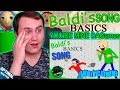 BALDI S BASICS SONG YOU RE MINE LYRIC VIDEO DAGames Reaction mp3
