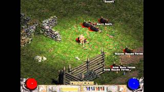 Diablo 2: The Secret Cow Level (gameplay w/ live commentary)