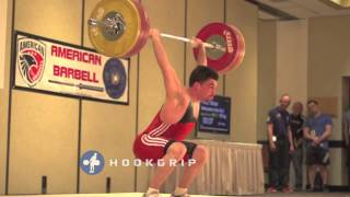 Peter Musa - 155kg Squat Jerk Slow Motion