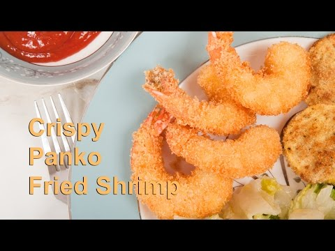 Homemade Panko Fried Seafood, Chicken or Pork (Med Diet Episode 28)