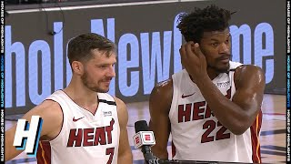 Jimmy Butler & Goran Dragic Postgame Interview - Game 2 | Heat vs Bucks | Sep 2, 2020 NBA Playoffs