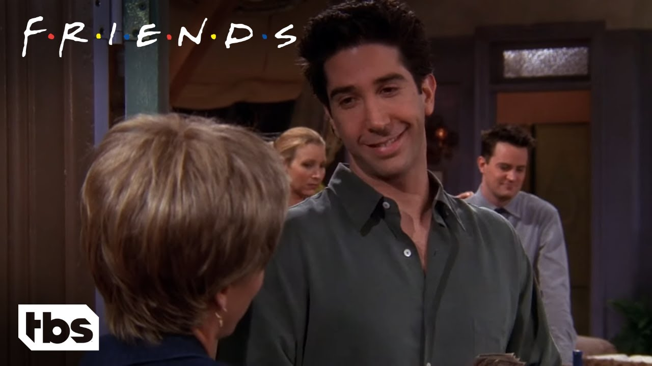 Download Friends: Ross Flirts With the Pizza Lady (Season 5 Clip) | TBS