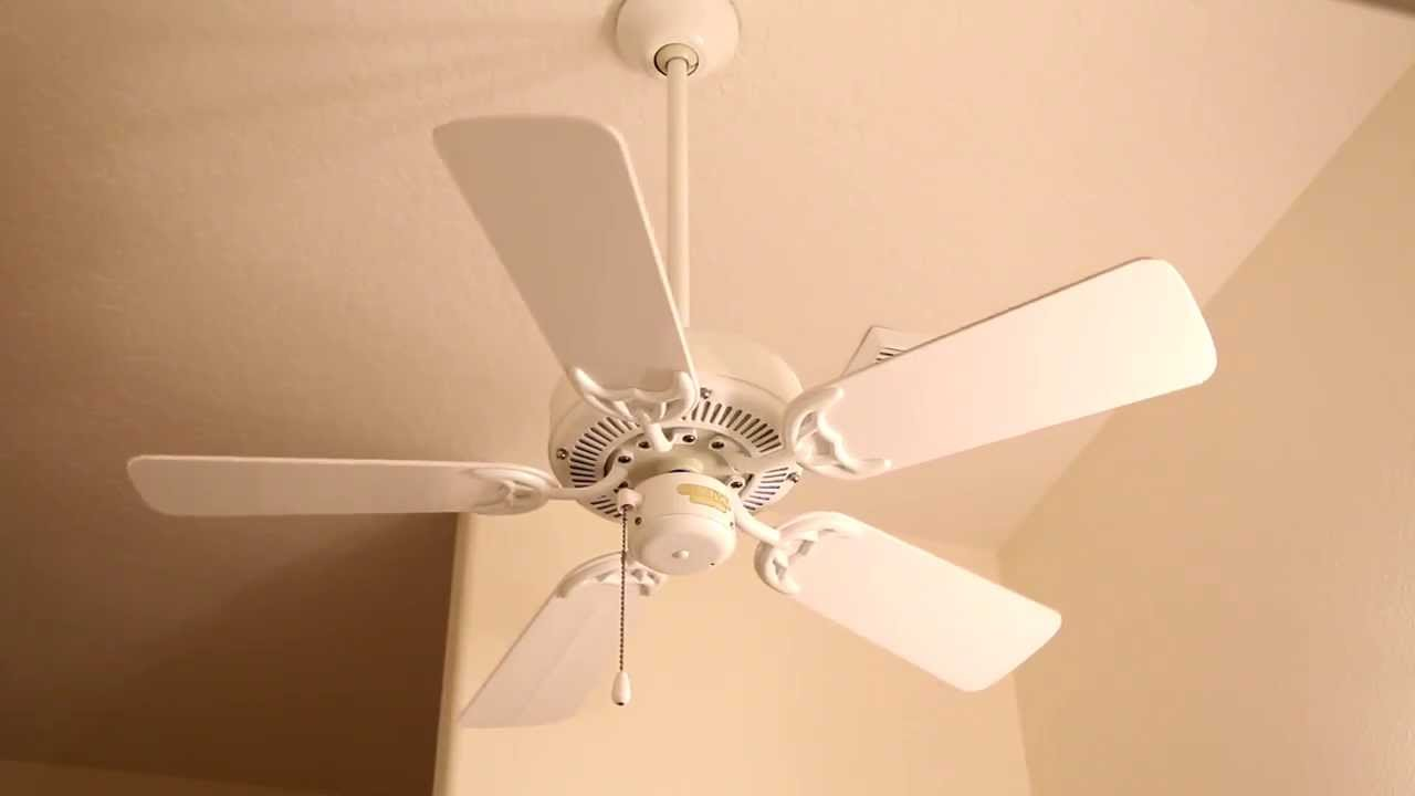 Regency Bathroom Ceiling Fan - YouTube