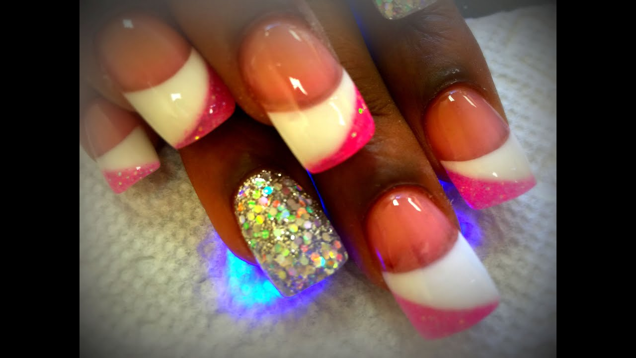 How to 3 Colors Solar Nails - YouTube