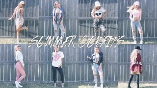 12 SUMMER OUTFIT IDEAS ♡ | Koleen Diaz