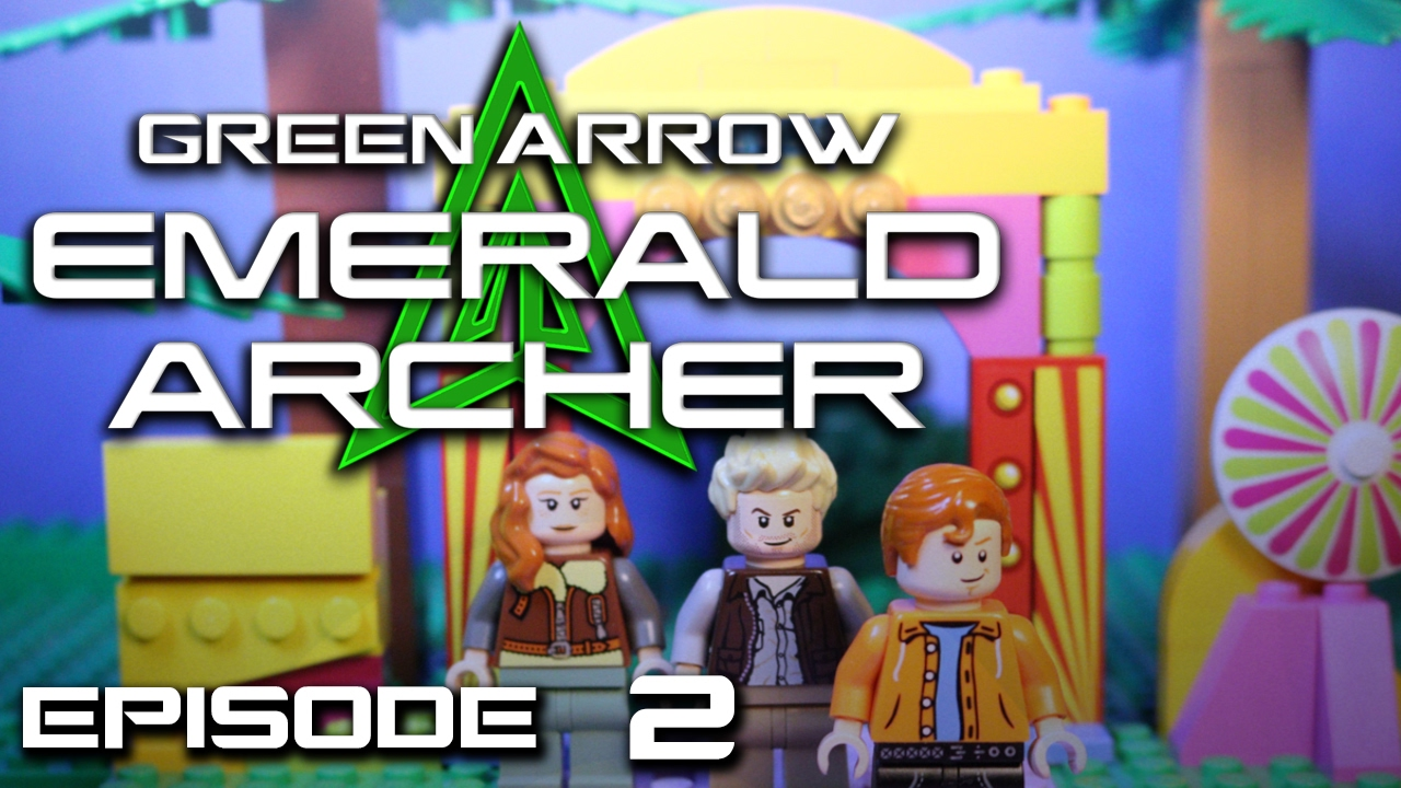 Lego green arrow emerald archer episode 2 the world 39 s - Archer episodes youtube ...