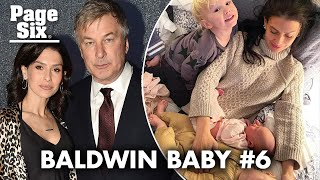 Hilaria and Alec Baldwin welcome baby No. 6 — five months after baby No. 5   Page Six Celebrity News
