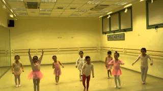 Мири - Открытый урок на кружке балета - 1