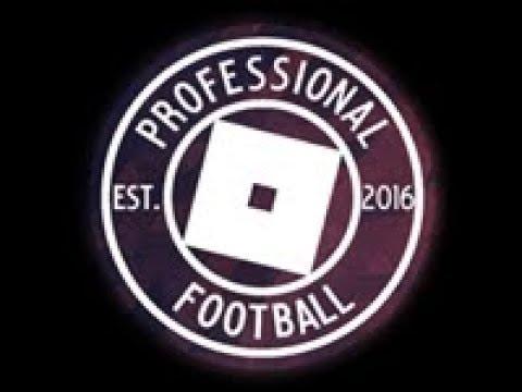 Roblox - Professional Football Association