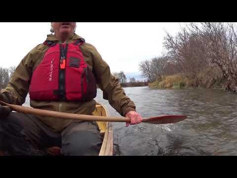 Paddling the Nith River - southwestern Ontario - Frog Bridge to Canning