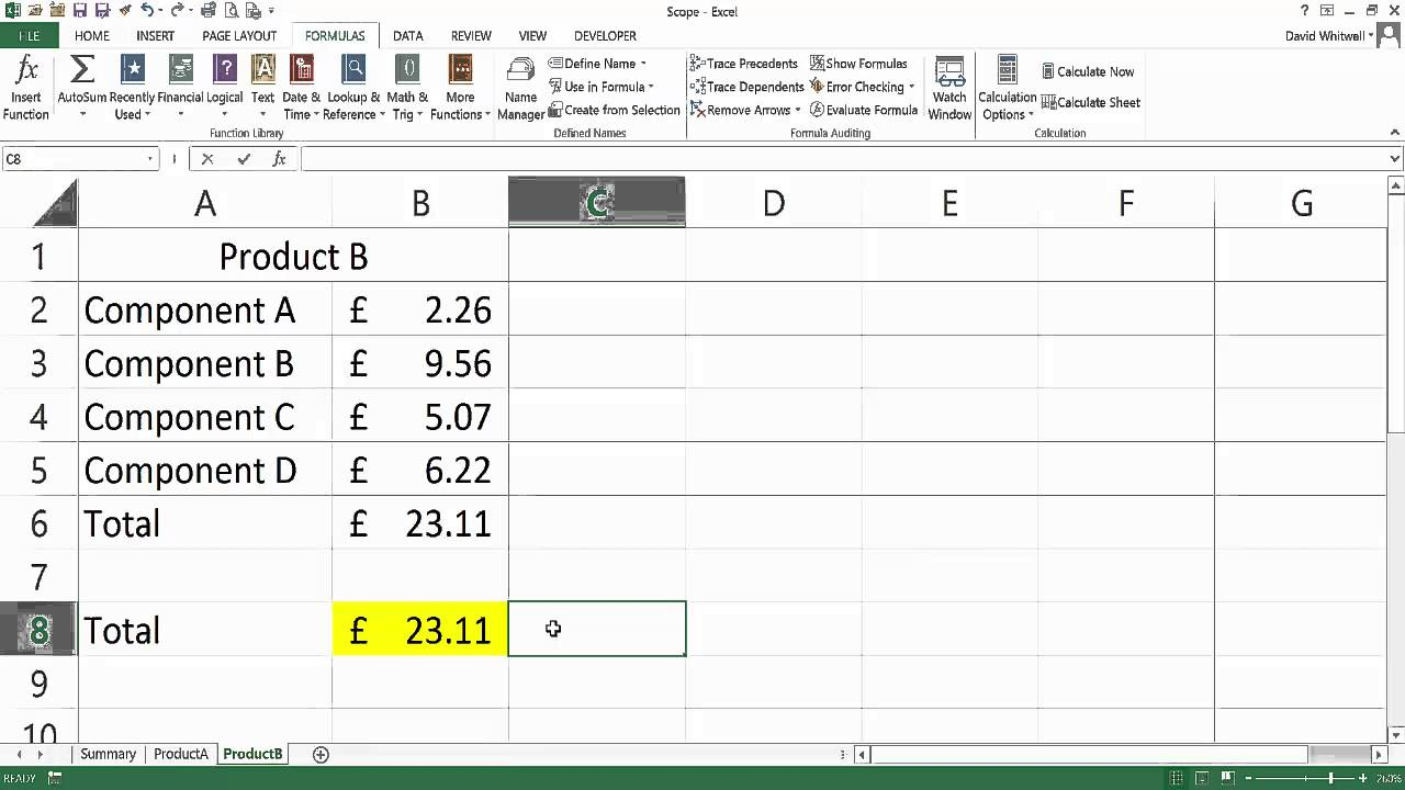 Dynamic Named Ranges in Excel - Defining Scope - YouTube