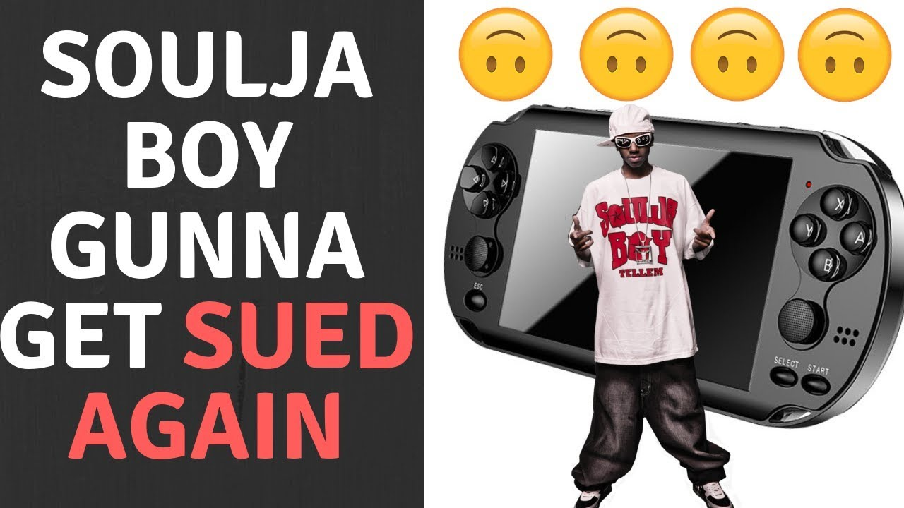 Soulja boy is back and he has released the brand new SouljaGame Handheld! It's literally a Sony PS Vita knock off...