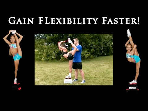 Cheer Stunt Strap - Stretching while using Stunt Stand® (Official)
